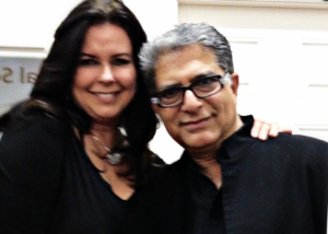 Siobhan McKenna and Deepak Chopra